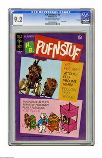 """H.R. Pufnstuf #3 File Copy (Gold Key, 1971) CGC NM- 9.2 Off-white to white pages. Photo cover. CGC notes: """"From the..."""