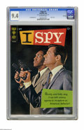 Silver Age (1956-1969):Mystery, I Spy #1 File Copy (Gold Key, 1966) CGC NM 9.4 Off-white pages.Bill Cosby and Robert Culp photo cover. Al McWilliams art. C...