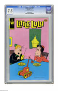 Modern Age (1980-Present):Humor, Little Lulu #261 File Copy (Whitman, 1980) CGC VF- 7.5 Off-white towhite pages. Distributed in multi-packs only. CGC notes:...