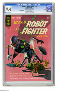 Magnus Robot Fighter #14 File Copy (Gold Key, 1966) CGC NM 9.4 Off-white to white pages. Russ Manning art. Overstreet 20...