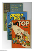 Golden Age (1938-1955):Funny Animal, Miscellaneous Golden and Silver Age Funny Animal Group (VariousPublishers, 1950-65) Condition: Average VG. Six-issue group ...(Total: 6 Comic Books)