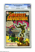 Silver Age (1956-1969):Superhero, My Greatest Adventure #80 (DC, 1963) CGC VF 8.0 Cream to off-white pages. Origin and first appearance of Doom Patrol, Negati...