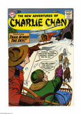 "Silver Age (1956-1969):Mystery, The New Adventures of Charlie Chan #6 (DC, 1959) Condition: FN/VF.Sid Greene cover and art. Overstreet lists as ""scarce."" H..."