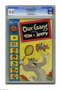 Golden Age (1938-1955):Cartoon Character, Our Gang #51 File Copy (Dell, 1948) CGC VF 8.0 Cream to off-whitepages. Walt Kelly art. Overstreet 2005 VF 8.0 value = $46....