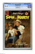 "Silver Age (1956-1969):Adventure, Spin and Marty #6 File Copy (Dell, 1958) CGC VF 8.0 Cream to off-white pages. Photo cover. CGC notes: ""From the Random House..."