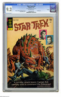 Bronze Age (1970-1979):Science Fiction, Star Trek #14 File Copy (Gold Key, 1972) CGC NM- 9.2 Off-white pages. Painted cover by George Wilson. Alberto Giolitti and G...