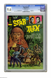Star Trek #17 File Copy (Gold Key, 1973) CGC NM+ 9.6 Off-white pages. Painted bondage cover by George Wilson. Alberto Gi...