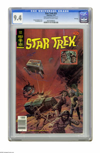 Star Trek #52 File Copy (Gold Key, 1978) CGC NM 9.4 Off-white to white pages. Drug propaganda story. Al McWilliams art...