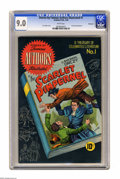 Golden Age (1938-1955):Classics Illustrated, Stories by Famous Authors Illustrated #1 The Scarlet Pimpernel -- Vancouver pedigree (Seaboard Pub., 1949) CGC VF/NM 9.0 White...