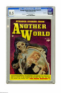 Golden Age (1938-1955):Horror, Strange Stories from Another World #3 Crowley Copy (Fawcett, 1952)CGC VF+ 8.5 Cream to off-white pages. Norm Saunders paint...