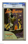 Golden Age (1938-1955):Horror, Super Magician Comics V3#2 (Street & Smith, 1944) CGC FN/VF 7.0Cream to off-white pages. Bondage cover. Fibber McGee and Mo...