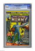 Bronze Age (1970-1979):Horror, Supernatural Thrillers #5 (Marvel, 1973) CGC NM 9.4 Off-white towhite pages. First appearance of the Living Mummy. George T...