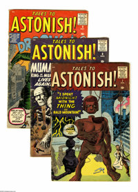 Tales to Astonish Group (Marvel, 1960-62) Condition: Average VG. This 16-issue group lot of early Tales to Astonish issu...