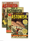 Silver Age (1956-1969):Superhero, Tales to Astonish Group (Marvel, 1962-64) Condition: Average GD/VG. This group lot of 25 issues features #36, 37, 38, 39, 40... (Total: 25 Comic Books)