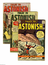 Tales to Astonish Group (Marvel, 1962-64) Condition: Average GD/VG. This group lot of 25 issues features #36, 37, 38, 39...