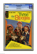 "Silver Age (1956-1969):Humor, Three Stooges #20 File Copy (Gold Key, 1964) CGC NM 9.4 Off-white to white pages. Photo cover. CGC notes: ""From the Random H..."