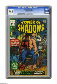Tower of Shadows #5 (Marvel, 1970) CGC NM+ 9.6 Off-white pages. Cover by Marie Severin and Bill Everett. Art by BArry Sm...