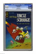 """Silver Age (1956-1969):Cartoon Character, Uncle Scrooge #49 File Copy (Gold Key, 1964) CGC NM- 9.2 Off-white pages. Carl Barks cover and art. CGC notes: """"From the Ran..."""