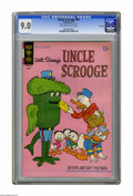 """Bronze Age (1970-1979):Cartoon Character, Uncle Scrooge #94 File Copy (Gold Key, 1971) CGC VF/NM 9.0Off-white to white pages. CGC notes: """"From the Random HouseArchi..."""