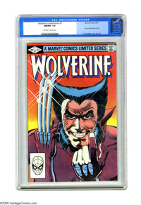 Wolverine (Limited Series) #1 (Marvel, 1982) CGC NM/MT 9.8 Off-white to white pages. First solo Wolverine comic. Frank M...
