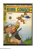 Golden Age (1938-1955):Miscellaneous, King Comics #81-92 Bound Volume (David McKay Publications, 1943) Condition: Average VG. These are file copies that have been...