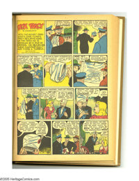 Super Comics #61-72 Bound Volume (Dell, 1943-44). These are Western Publishing file copies that have been trimmed and bo...