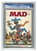 "Magazines:Mad, Mad #114 Gaines File pedigree (EC, 1967) CGC VF 8.0 Off-white towhite pages. ""Rat Patrol"" satire. Dr. Seuss spoof. Norman M..."