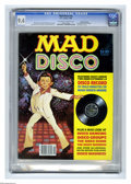 Magazines:Mad, Mad Disco nn Gaines File pedigree (EC, 1980) CGC NM 9.4 Off-whiteto white pages. Includes Mad Disco record. Jack Rickard co...