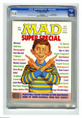 Modern Age (1980-Present):Humor, Mad Special #56 Gaines File pedigree (EC, 1986) CGC NM/MT 9.8 Whitepages. Richard Williams cover. Includes eight color post...
