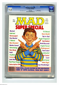 Mad Special #56 Gaines File pedigree (EC, 1986) CGC NM/MT 9.8 White pages. Richard Williams cover. Includes eight color...
