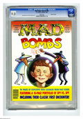 "Modern Age (1980-Present):Humor, Mad Special #59 Gaines File pedigree (EC, 1987) CGC NM/MT 9.8 Whitepages. Entitled ""Mad Bombs."" Features a 10-page portfoli..."