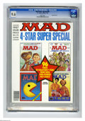 Modern Age (1980-Present):Humor, Mad Special #61 Gaines File pedigree (EC, 1987) CGC NM+ 9.6 Whitepages. Overstreet 2005 NM- 9.2 value = $10. CGC census 10/...