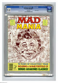 "Modern Age (1980-Present):Humor, Mad Special #62 Gaines File pedigree (EC, 1988) CGC NM/MT 9.8 Whitepages. Titled ""Mad Mania."" Sergio Aragones cover. Overst..."