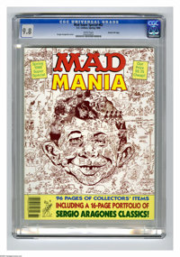 """Mad Special #62 Gaines File pedigree (EC, 1988) CGC NM/MT 9.8 White pages. Titled """"Mad Mania."""" Sergio Aragones..."""