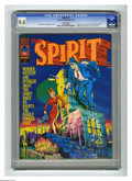 Magazines:Superhero, The Spirit #2 (Warren, 1974) CGC NM 9.4 White pages. Powder Poufstory. Eight pages in color. Letters from Wally Wood, Neal ...