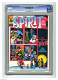 Magazines:Superhero, The Spirit #12 (Warren, 1976) CGC VF/NM 9.0 Off-white pages.Christmas theme issue. Cover by Will Eisner and Bill DuBay. Ove...