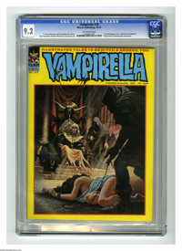 Vampirella #20 (Warren, 1972) CGC NM- 9.2 Off-white pages. Dracula appearance. Bondage cover by Luis Dominguez. Jose Gon...