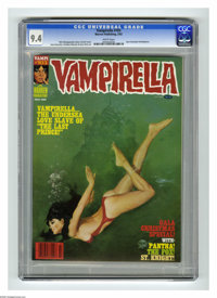Vampirella #103 (Warren, 1982) CGC NM 9.4 White pages. Lower print run than previous issues according to Overstreet. Enr...
