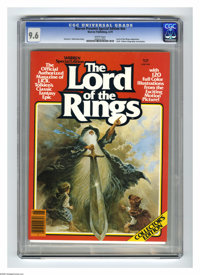 """Warren Presents #nn Lord of the Rings (Warren, 1979) CGC NM+ 9.6 White pages. Forest J. Ackerman story. """"Lord of th..."""