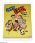 Memorabilia:Miscellaneous, Big Big Paint Book #2070 File Copy (Whitman, 1941). Gorgeous, huge coloring book filled with wonderful period drawings of ch...