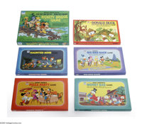 Disney Board Game Group File Copies (Whitman, 1972-77). Six boxed board games include Donald Duck Capture the Monkeys Ga...