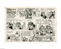 Original Comic Art:Comic Strip Art, John Lehti - Tales From the Great Book Sunday Comic Strip Original Art, dated 3-14-71 (Publishers-Hall Syndicate, 1971). The...