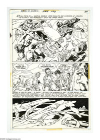 Alex Nino - House of Secrets #103 and Witching Hour #5 Page Original Art, Group of 6 (DC, 1969-73). Alex Nino's sinuous...