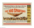 "Movie Posters:Adventure, The 300 Spartans (20th Century Fox, 1962). Half Sheet (22"" X 28"").Based on a true story, this film tells the tale of 300 Sp..."
