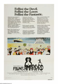 """Movie Posters:Comedy, Amarcord (New World Pictures, 1973). One Sheet (27"""" X 41""""). """"I remember."""" Federico Fellini's fond memories of his hometown o..."""