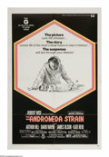 "Movie Posters:Science Fiction, The Andromeda Strain (Universal, 1971). One Sheet (27"" X 41""). When a satellite returns from space and lands near a small Ne..."