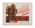 "Movie Posters:War, Beach Red (Universal, 1967). Half Sheet (22"" X 28""). Americantroops in the Pacific during WWII invade one of the countless ..."