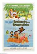 "Movie Posters:Animated, Bedknobs and Broomsticks (Buena Vista, 1971). One Sheet (27"" X41""). During WWII, the three Rawlins children, Carrie, Paul a..."