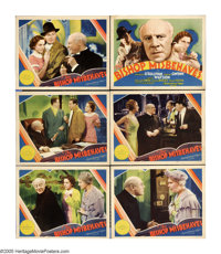 """The Bishop Misbehaves (MGM, 1935). Title Lobby Card and Lobby Cards (5) (11"""" X 14""""). Edmund Gwenn is the titul..."""