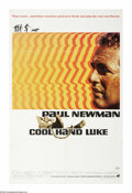 "Movie Posters:Action, Cool Hand Luke (Warner Brothers, 1967). One Sheet (27"" X 41""). PaulNewman plays one of moviedom's most famous outcasts in t..."